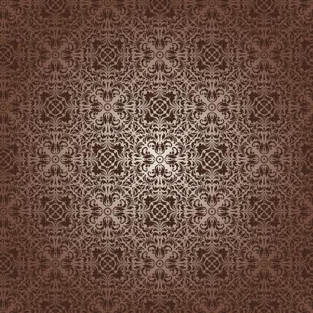 revivalism: Damask seamless pattern