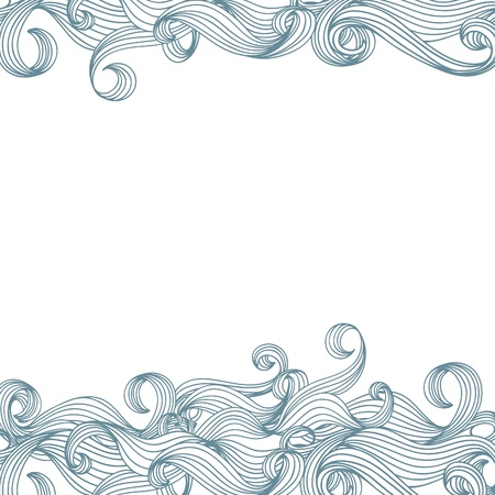 background with waves