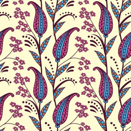 orient:  Paisley seamless pattern Illustration