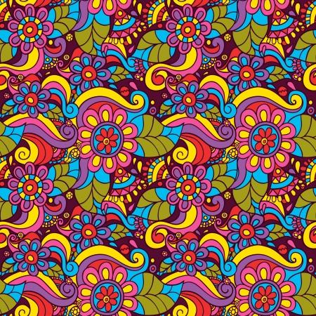 seamless pattern avec des fleurs