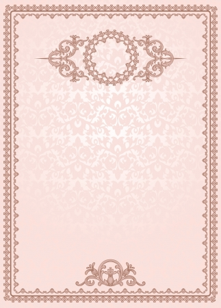 vintage blank for certificates Stock Vector - 15990433