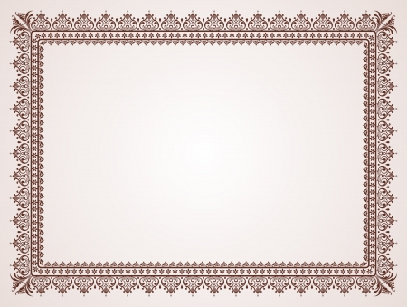 vintage blank for certificates Stock Vector - 15990392
