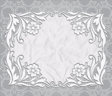 openwork frame  Stock Vector - 16250850