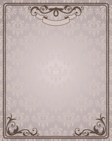 Certificate template  Vintage background  Stock Vector - 15990402