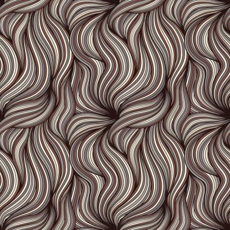 textura pelo: Fondo sin fisuras con cabello Marrón