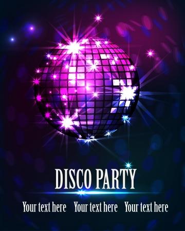 fond disco party Vecteurs