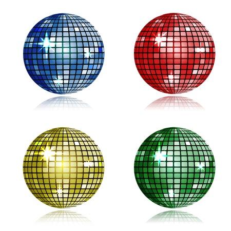 spiegelbeeld: disco bal