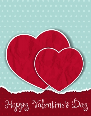 love wallpaper: background with hearts Valentines Day Illustration