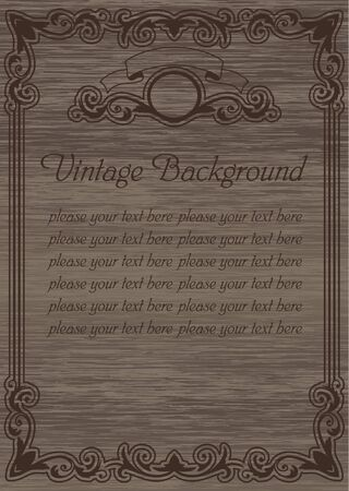 vintage template blank Stock Vector - 17068668