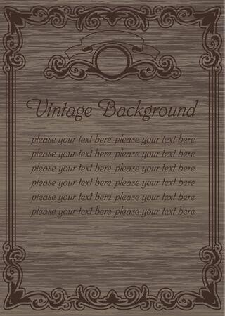 vintage template blank Stock Vector - 17068668
