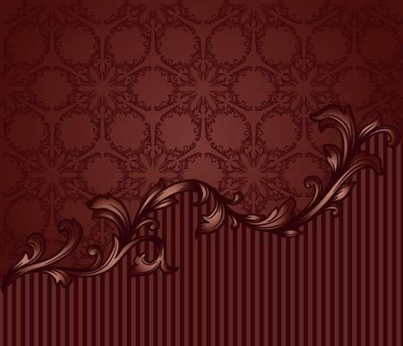 vintage blank seamless pattern Stock Vector - 17454263