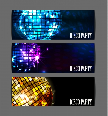 mirror ball: background disco party