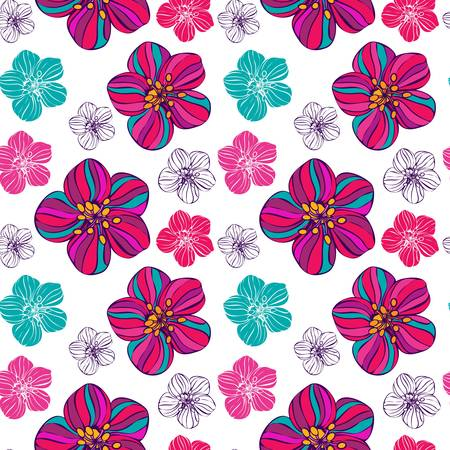 seamless floral pattern Stock Vector - 19094127