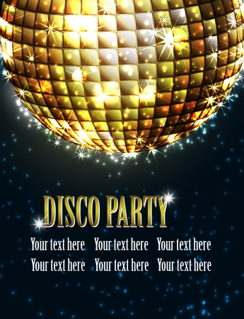 dancing disco: background disco party