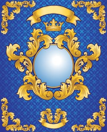 acanthus: Royal Emblem  Illustration