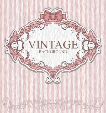 vintage: Vintage etykieta