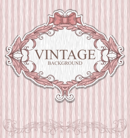 Vintage label  Stock Vector - 22151186
