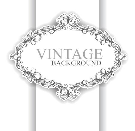 Vintage form Vector