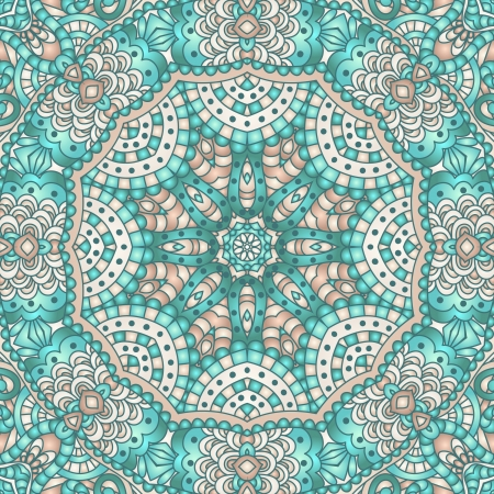 Circle decorative ornamental  Vector