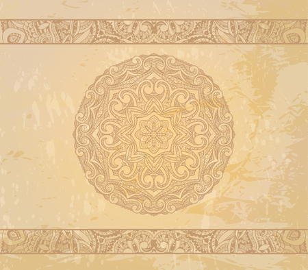 Ornamental round lace pattern  Stock Photo - 24068665