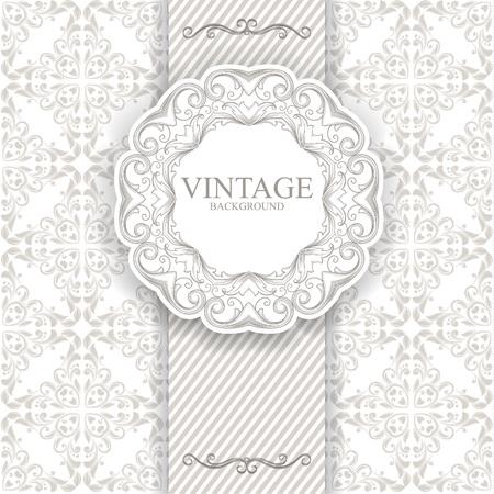 wedding backdrop: Vintage frame
