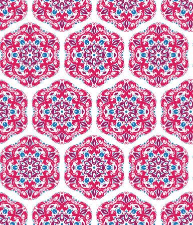 orientalische muster: Nahtlose ornamentale Muster orientalisch