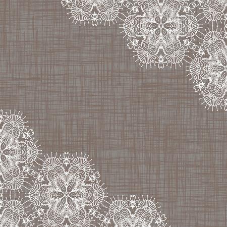 lace border: lace background