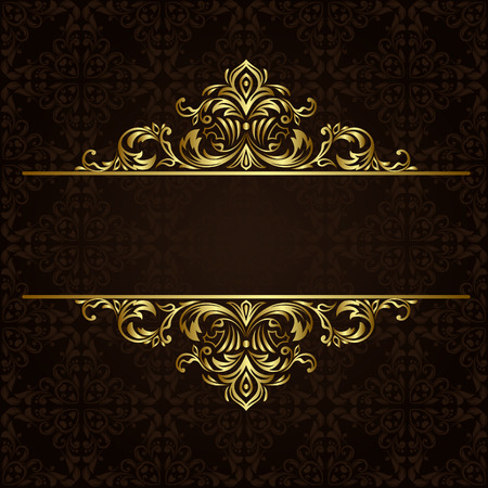 ornate gold border