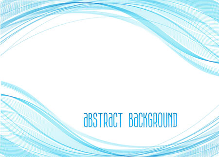 abstract waves: abstract background with waves Illustration
