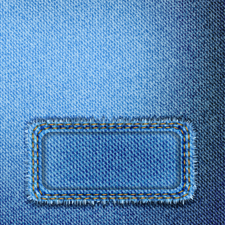 jeans background: blue jeans background and banner
