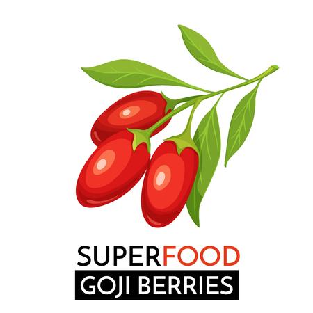 Goji berries vector icon. Stok Fotoğraf - 84705393