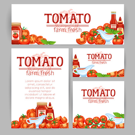 Red tomatoes and tomato background.