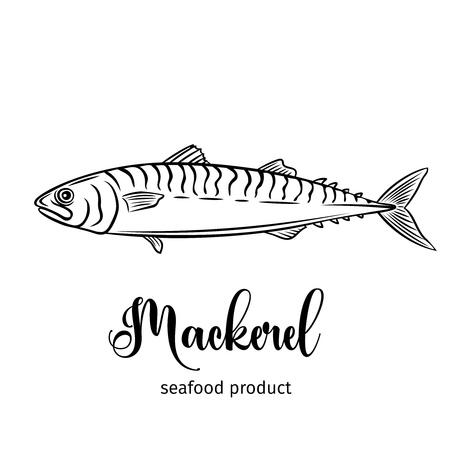 Vector mackerel.