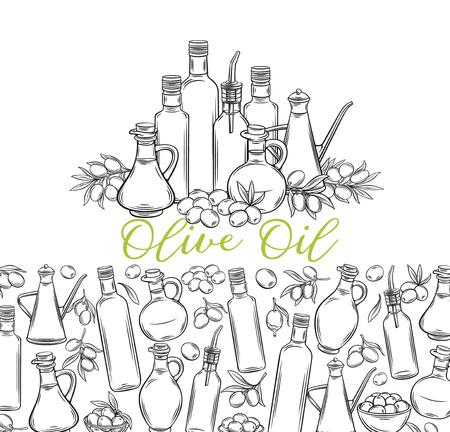 sketch olive oil