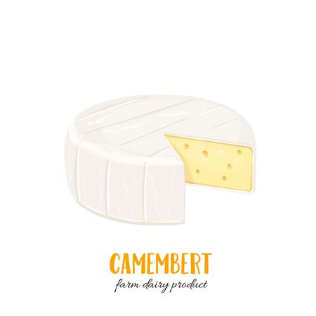 icône de fromage camembert