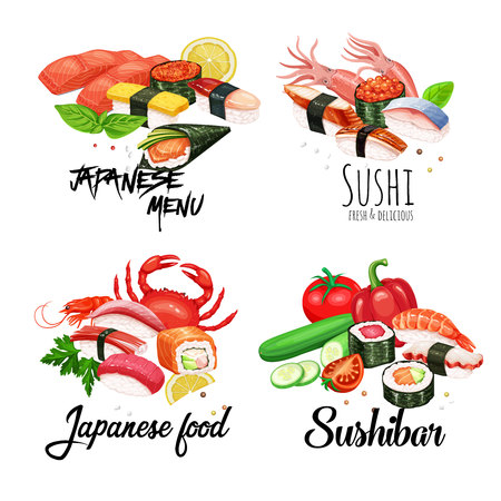 banners japanese food