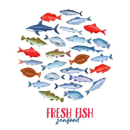 Set banners fish.