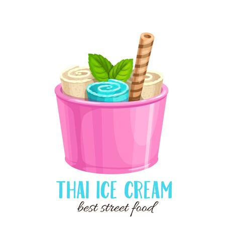 Thai ice cream