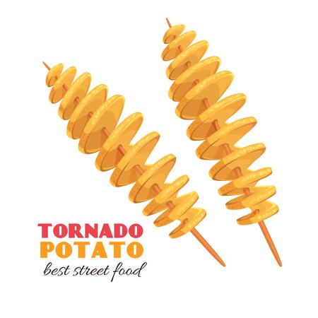 papa tornado espiral