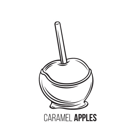 apples in caramel