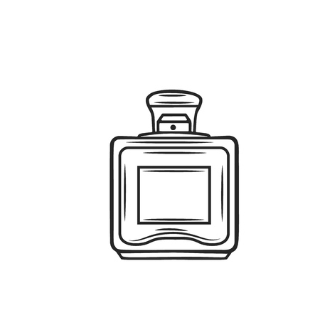 Perfume icon, outline Vettoriali