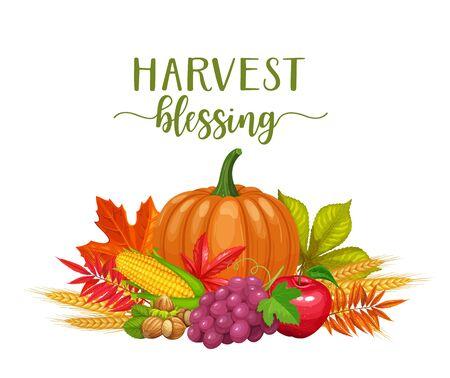 Banner de otoño estacional