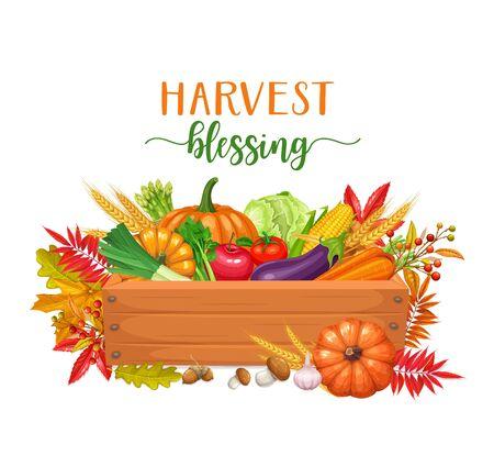 Seasonal fall banner Illustration