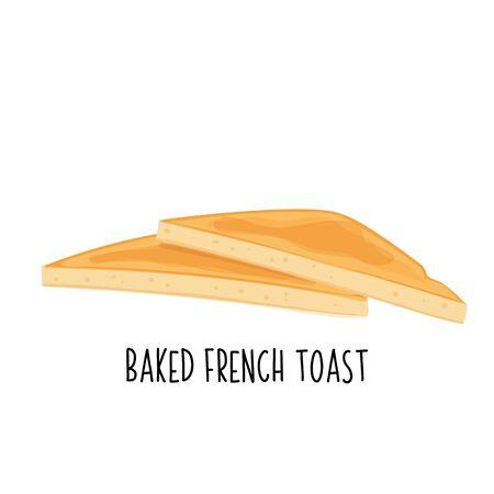 Baked toast icon