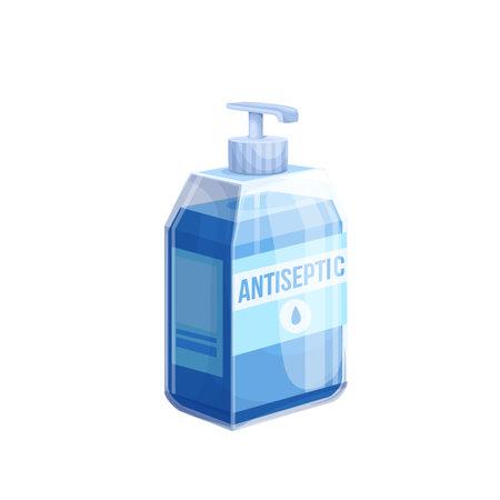 Hand sanitizer icon, sanitizer bottle