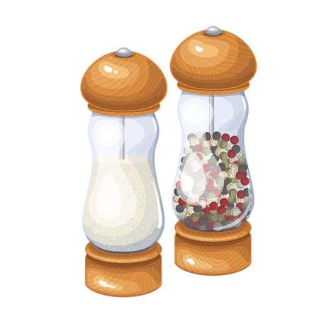 Salt and pepper grinder, spice shaker