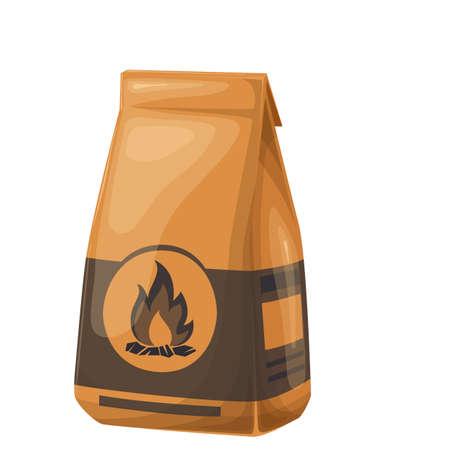 Coal paper bag