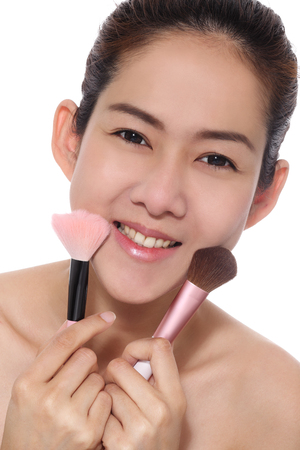 Beauty girl asian make up  photo