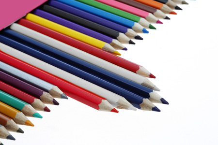 color pencil flag this thailand photo