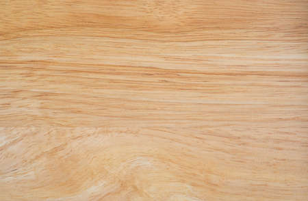 Close up of Natural light brown planks wood texture table background. Abstract surface rough pattern. Design in your work backdrop and decoration. Concept blank copy space for text. Stock Photo